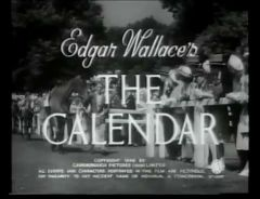 The Calendar 1948 DVD - Greta Gynt / John McCallum